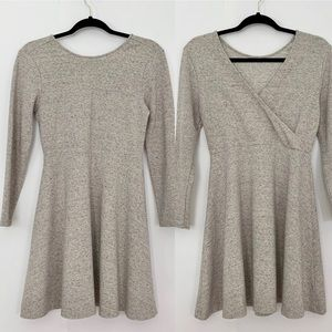 Lou & Grey Long Sleeve cross back dress